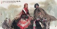 牧歌 镜心 设色纸本 - 17053 - 中国书画 - 2007春季中国书画拍卖会 -中国收藏网