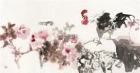 报春图 软片 - 骆孝敏 - 中国书画(一) - 2011冬季大型书画拍卖会 -收藏网