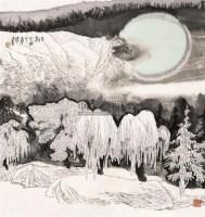 玉树 镜心 设色纸本 - 119214 - 海外回流书画专场(五) - 2011秋季艺术品拍卖会 -收藏网