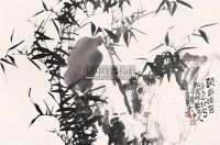 疏影摇窗 镜心 水墨纸本 - 6313 - 关东名家书画专场(三) - 2011秋季艺术品拍卖会 -收藏网