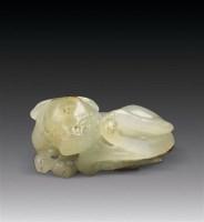 青玉小兽摆件 -  - 中国玉器精品专场 - 2011年秋季艺术品拍卖会 -收藏网
