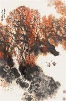 秋收 立轴 设色纸本 - 127920 - 中国书画 - 2007年秋季大型艺术品拍卖会 -中国收藏网