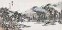 松声云影 立轴 设色纸本 - 吴琴木 - 中国近现代书画 - 2007春季艺术品拍卖会 -收藏网