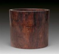 黄花梨大笔筒 -  - 古董珍玩 - 2011年秋季艺术品拍卖会 -收藏网