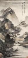 雪景 立轴 设色纸本 - 吴石仙 - 中国书画 牙雕、文房、古籍 - 2009年仲夏艺术品拍卖会 -中国收藏网
