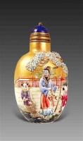 金地五彩雕瓷鼻烟壶 -  - 艺术珍玩 - 十周年庆典拍卖会 -收藏网