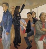 在路上 - 王岩 - 中国油画专场 - 2006年春季大型艺术品拍卖会 -收藏网