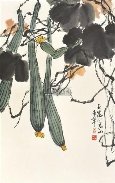 纸本 - 128053 - 山东地区书画专场 - 2011首届书画精品拍卖会 -中国图片