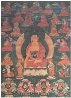 释迦牟尼佛与十八罗汉唐卡 -  - 佛像唐卡 - 2007春季艺术品拍卖会 -收藏网