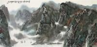 清江帆影 镜片 纸本 - 10581 - 中国书画(二) - 2012迎春艺术品拍卖会 -收藏网