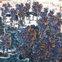 兰江记忆 镜心 设色纸本 - 4399 - 当代书画名家精品专场 - 2008春季拍卖会 -收藏网