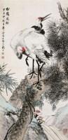 金梦石(1869~1947后)松鹤延龄 -  - 中国书画近现代名家作品专场(二) - 西泠印社2009五周年庆典拍卖会 -中国收藏网