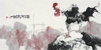 新春第一声 - 骆孝敏 - 当代艺术名家作品 - 2009春季文化艺术品拍卖会 -收藏网