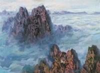 王路 黄山云海 布面 油画 - 王路 - 中国书画油画 - 2006秋季艺术品拍卖会 -收藏网