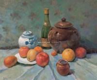 静物 布面油画 -  - 油画专场 - 2006迎春首届大型艺术品拍卖会 -收藏网