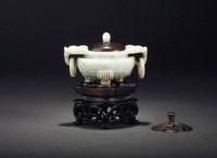 清·翡翠香熏 -  - 文房清玩·古玩杂件专场 - 西泠印社2009五周年庆典拍卖会 -收藏网