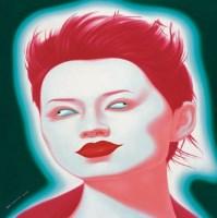 中国面孔 布面 油画 - 俸正杰 - 中国油画 - 2007秋季大型拍卖会 -收藏网