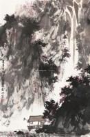 山水 镜片 纸本 - 庄小雷 - 中国书画(一) - 2011年春季拍卖会 -收藏网