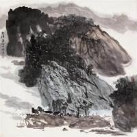 山水 镜心 设色纸本 - 5309 - 中国书画专场 - 2008第三季艺术品拍卖会 -收藏网