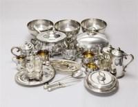 银质餐具 (一百四十九件) -  - 装饰艺术专场 - 2011秋季伊斯特东京拍卖会 -中国收藏网