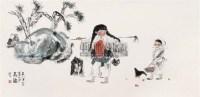 群鸡图 (二帧) 镜心 - 127082 - 中国书画 - 第69期中国书画拍卖会 -收藏网