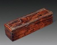 黄花梨手卷盒 -  - 中国古典家具及古董珍玩 - 2011年春季艺术品拍卖会 -中国收藏网