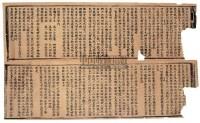 太上玉皇度人经存二纸 -  - 古籍文献 - 2007年迎春艺术品拍卖会 -中国收藏网