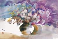 花瓶 - 70429 - 中国当代水彩 - 中国当代水彩名家精品邀请展暨专场拍卖会 -收藏网