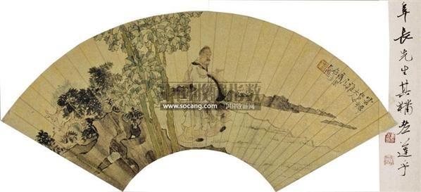 人物扇面 - 5984 - 中国书画 - 2011春季拍卖会 -收藏网