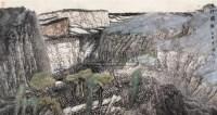 太行独韵 镜心 设色纸本 - 123088 - 中国书画 - 2006秋季拍卖会 -收藏网