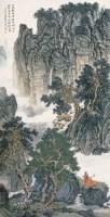 山林无事图 镜心 设色纸本 - 刘彦水 - 中国书画(二) - 2007秋季大型拍卖会 -收藏网