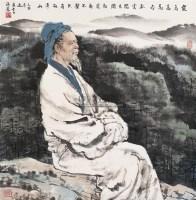 人物 立轴 设色纸本 - 117654 - 中国书画 - 2005秋季艺术品拍卖会 -收藏网