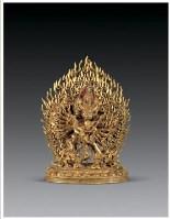 铜鎏金大威德金刚像 -  - 佛像唐卡 - 2007春季艺术品拍卖会 -收藏网