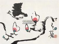 花鸟 立轴 设色纸本 - 114810 - 艺海拾珍 - 2011年春季艺术品拍卖会 -中国收藏网