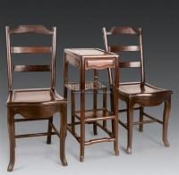 红木两椅一几 -  - 明清古典家具 - 2006年秋季大型明清古典家具专场拍卖会 -收藏网