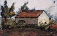 风景 木板 油画 - 戴秉心 - 中国油画 - 2006夏季艺术品拍卖会 -收藏网