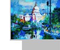 雨后的国会大厦 布面 油画 - 58239 - 名家西画 当代艺术专场 - 2008年春季拍卖会 -收藏网
