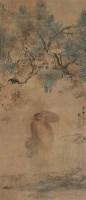 张问陶 猿戏图 立轴 设色绢本 - 张问陶 - 中国书画(一) - 2006畅月(55期)拍卖会 -收藏网