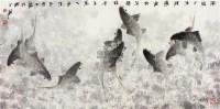 年年有余 镜片 - 1459 - 中国书画 - 壬辰迎春 -中国收藏网
