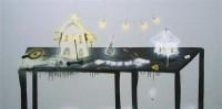 黄宇兴 2003年作 河殇I 布面油画 - 黄宇兴 - 中国当代艺术 - 2006秋季艺术品拍卖会 -收藏网