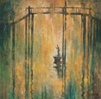 查国钧 桥 布上油画 - 8617 - 中国西画 - 2006秋季拍卖会 -收藏网