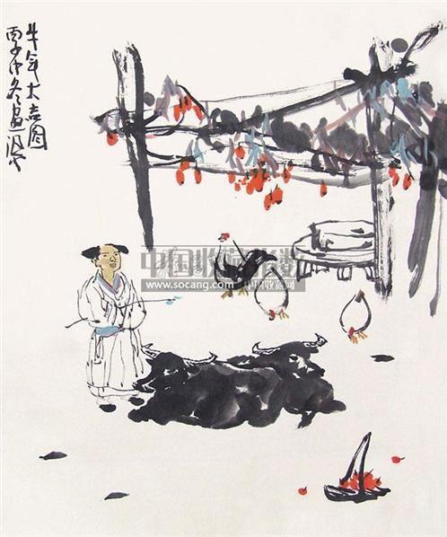 人物 纸本设色 - 33135 - 中国书画 - 2011春季艺术品拍卖会 -收藏网