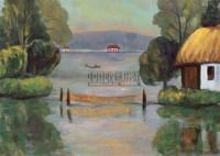 西湖 纸本水粉 - 关紫兰 - 中国油画及雕塑 - 2006年春季拍卖会 -收藏网