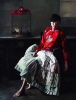 笼中鸟 布面油画 - 72436 - 中国油画 雕塑专场 - 2008年迎春艺术品拍卖会 -收藏网
