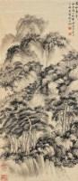 万松叠翠图 立轴 水墨纸本 - 俞叔渊 - 古调今韵 中国传统书画专场 - 2008冬季艺术品拍卖会 -收藏网