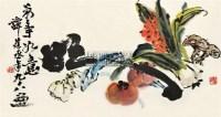 万事如意 镜片 设色纸本 - 谭建丞 - 中国书画专场(二) - 2011春季艺术品拍卖会 -中国收藏网
