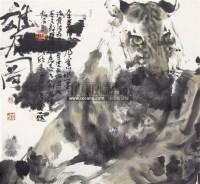 虎图 纸本设色 - 孙晓东 - 中国书画 - 2011春季艺术品拍卖会 -收藏网