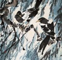 双喜图 镜心 设色纸本 - 王乃壮 - 中国近现代书画 - 2007迎春拍卖会 -收藏网