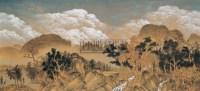 东方的山和西方的山 布面 丙烯 - 高惠君 - 中国油画雕塑 - 2006秋季艺术品拍卖会 -收藏网