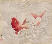 跃龙门 镜心 绢本 - 149172 - 中国古代书画 - 首届艺术品拍卖会 -收藏网